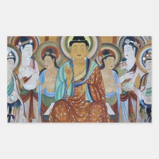Buddha and Bodhisattvas Dunhuang Mogao Caves Art