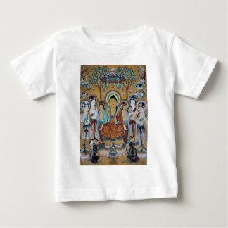 Buddha and Bodhisattvas Dunhuang Mogao Caves Art Baby T-Shirt