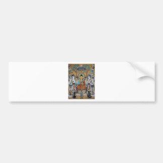 Buddha and Bodhisattvas Dunhuang Mogao Caves Art Bumper Sticker