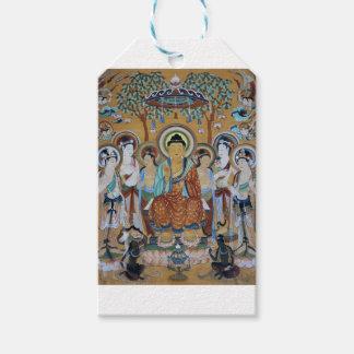 Buddha and Bodhisattvas Dunhuang Mogao Caves Art Gift Tags