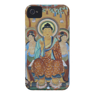 Buddha and Bodhisattvas Dunhuang Mogao Caves Art iPhone 4 Case-Mate Case