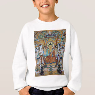 Buddha and Bodhisattvas Dunhuang Mogao Caves Art Sweatshirt