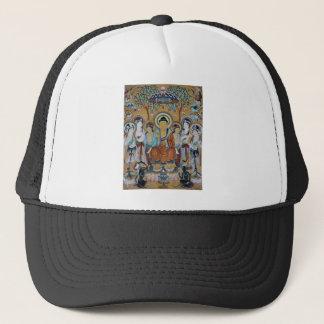 Buddha and Bodhisattvas Dunhuang Mogao Caves Art Trucker Hat