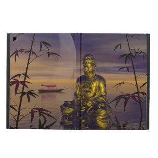 buddha and moon iPad air case