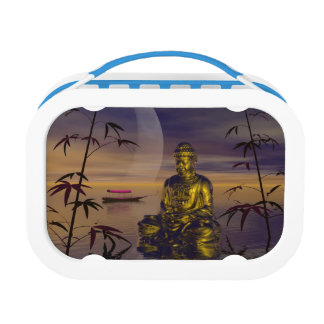 buddha and moon lunchboxes