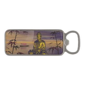 buddha and moon magnetic bottle opener