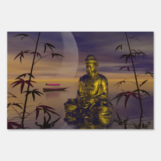 buddha and moon sign