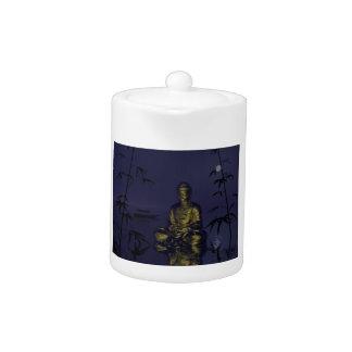 buddha and night