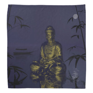 buddha and night bandana