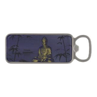 buddha and night magnetic bottle opener