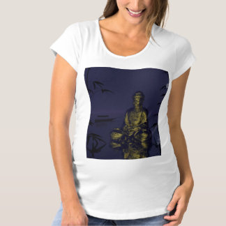 buddha and night maternity T-Shirt