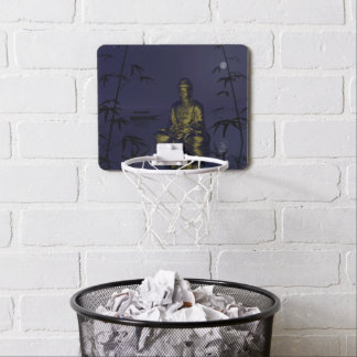 buddha and night mini basketball backboard