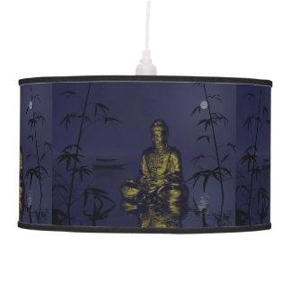 buddha and night pendant lamp
