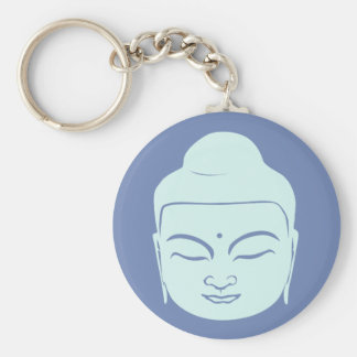 Buddha Badge. Peace Be With You. Keychain