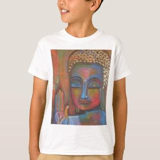buddha-blessing-white-robe-high T-Shirt