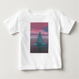 buddha blue and steps grey baby T-Shirt