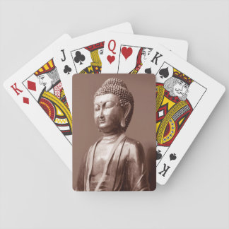 Buddha, Buddah Statue Buddhism Religion Playing Cards