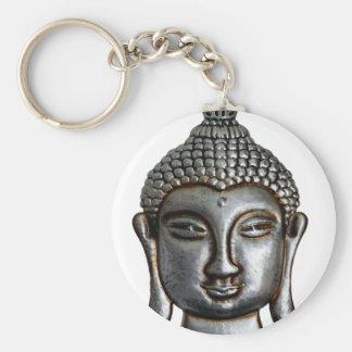 Buddha,buddhism,compassion,love,forgiveness,spirit Basic Round Button Keychain