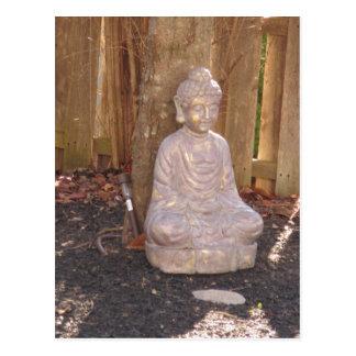 Buddha Buddhism Religion Spiritual Idol Statue fun Postcard