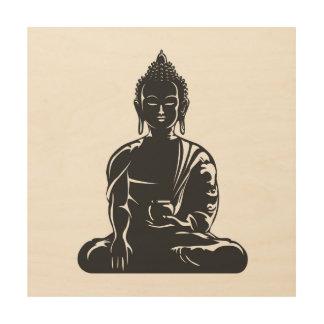 Buddha,buddhism,yoga,yogi,faith,spiritual,zen,ohm Wood Prints