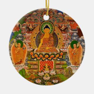 Buddha Buddhist Buddhism Blessing Boho Bohemian Ceramic Ornament