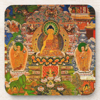 Buddha Buddhist Buddhism Blessing Boho Bohemian Coaster