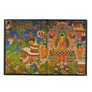 Buddha Buddhist Buddhism Blessing Boho Bohemian iPad Air Cover