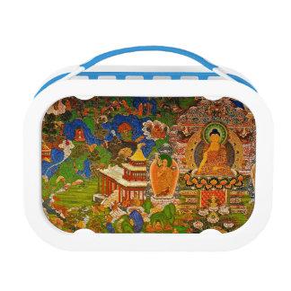 Buddha Buddhist Buddhism Blessing Boho Bohemian Lunch Box