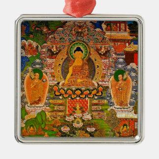 Buddha Buddhist Buddhism Blessing Boho Bohemian Metal Ornament