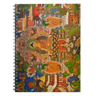 Buddha Buddhist Buddhism Blessing Boho Bohemian Notebooks
