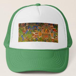 Buddha Buddhist Buddhism Blessing Boho Bohemian Trucker Hat