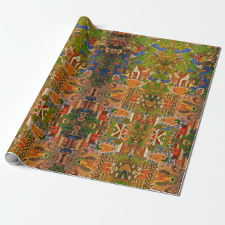 Buddha Buddhist Buddhism Blessing Boho Bohemian Wrapping Paper