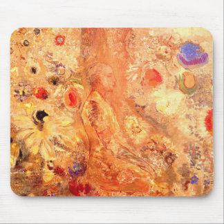 Buddha by Symbolist Painter Odilon Redon Mouse Pad