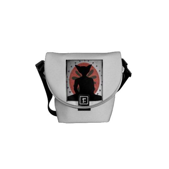 Buddha Cat Messenger Bag