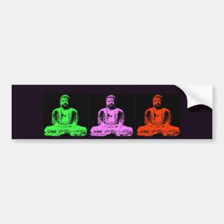 Buddha Collage Bumper Sticker