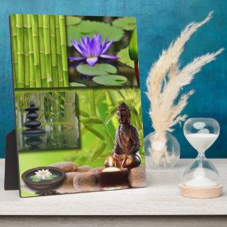 Buddha  Collage Plaque