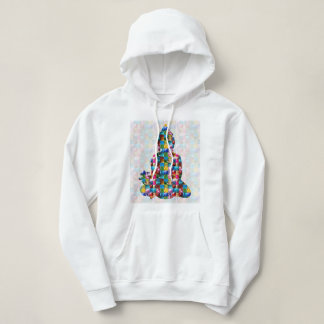 BUDDHA Consciousness : Rolled into JEWELS Hoodie