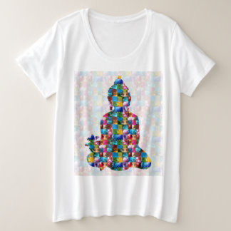 BUDDHA Consciousness : Rolled into JEWELS Plus Size T-Shirt
