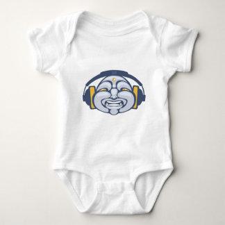 Buddha DJ Baby Bodysuit
