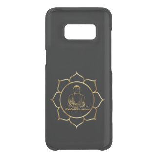 Buddha doing yoga meditation spiritual design uncommon samsung galaxy s8 case