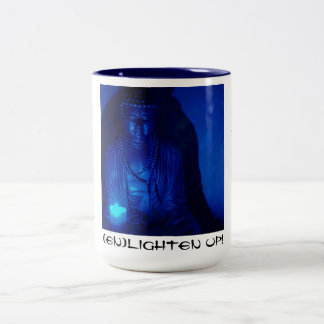 Buddha - (en)Lighten Up! Two-Tone Coffee Mug