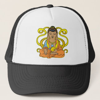 Buddha Energy Flow Trucker Hat