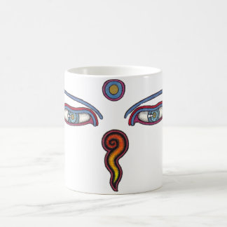 Buddha Eyes Coffee Mug