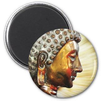 Buddha face magnet