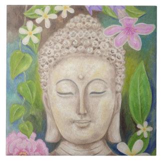 Buddha Flower wall tile