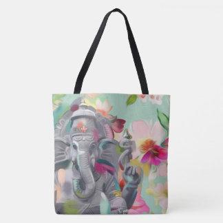 Buddha Ganesha Art Tote Bag