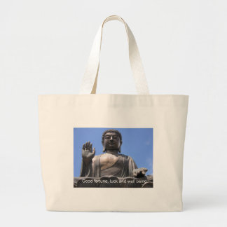 Buddha - Good fortune, luck and wellbeing Bag