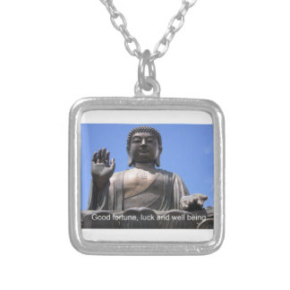 Buddha - Good fortune luck and wellbeing Pendant