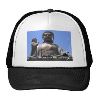 Buddha - Good fortune, luck and wellbeing Trucker Hat