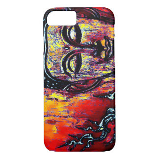Buddha Graphic Art iPhone 7 Case